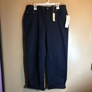 brand new with tags high waisted blue pants
